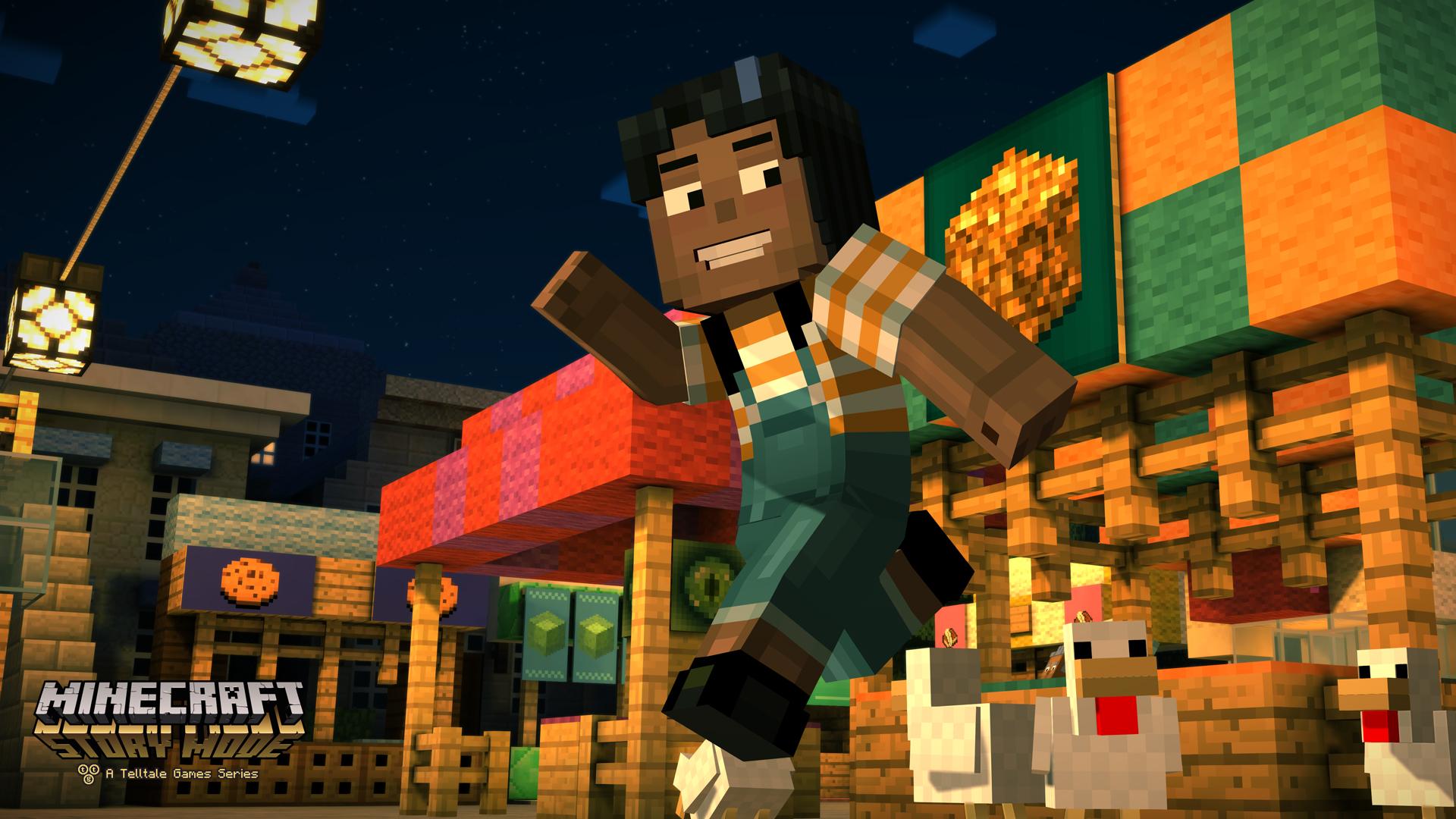 Minecraft: Story Mode скачать v1.37 (Все эпизоды) на Android