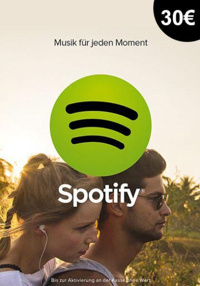 Saksa Spotify 30€ Lahjakortti