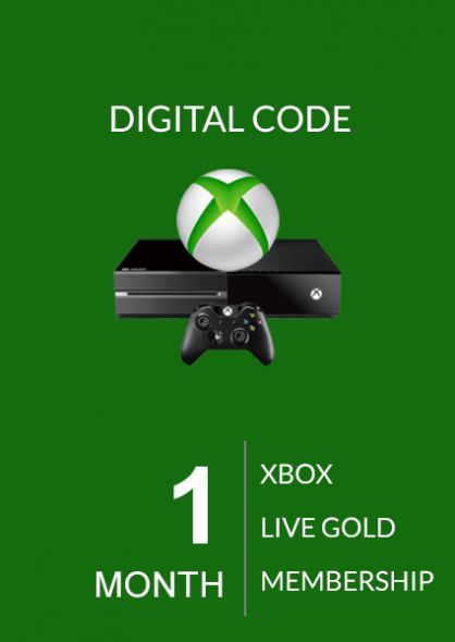 Xbox Live Gold 1 kk (Xbox One & 360)