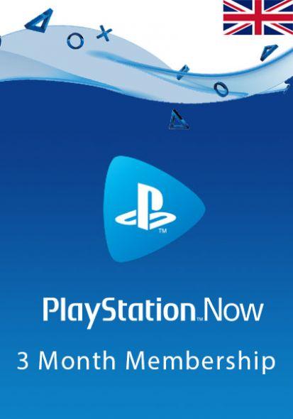 UK PlayStation Now 3 kk