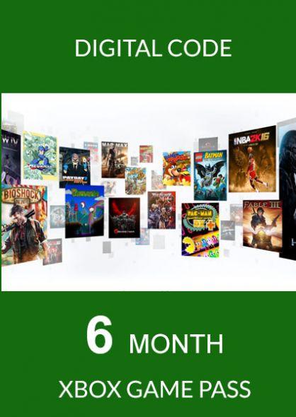 Xbox Game Pass 6 kk (Xbox One)