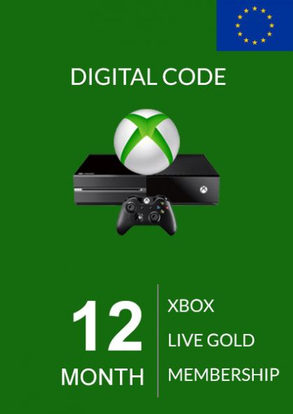 EU Xbox Live Gold 12 kk (Xbox One & 360)