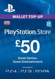 UK PSN 50 GBP Lahjakortti