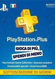 Italia PlayStation Plus 90 päivää