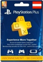 Itävalta PlayStation Plus 90 päivää