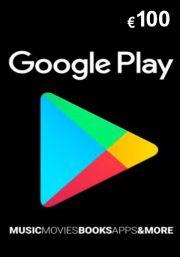 Google Play 100 Euro Lahjakortti