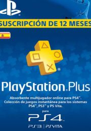 Espanja PlayStation Plus 365 päivää
