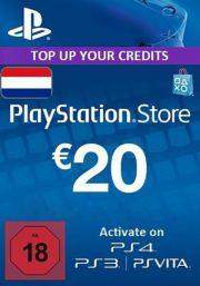 Alankomaat PSN 20 EUR Lahjakortti
