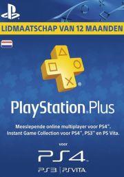 Alankomaat PlayStation Plus 365 päivää