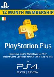 Irlanti PlayStation Plus 365 päivää