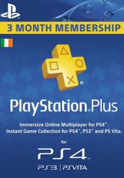 Irlanti PlayStation Plus 90 päivää