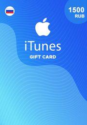 iTunes Venäjä 1500 RUB Lahjakortti