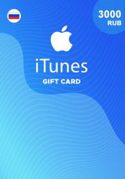 iTunes Venäjä 3000 RUB Lahjakortti