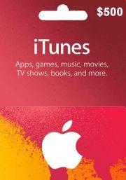 iTunes USA 500 USD Lahjakortti