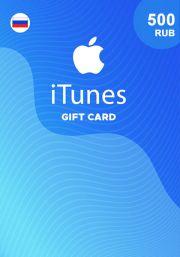 iTunes Venäjä 500 RUB Lahjakortti