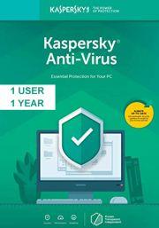 Kaspersky Anti-Virus 2019 (1 Käyttäjä, 1 Vuosi)
