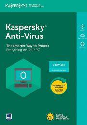 Kaspersky Anti-Virus 2021 (3 Käyttäjä, 1 Vuosi)