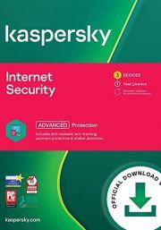 Kaspersky Internet Security Multi-Device 2021  (3 Käyttäjää, 1 Vuosi)