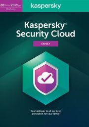 Kaspersky Security Cloud (20 Käyttäjää, 1 Vuosi)
