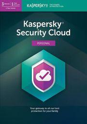 Kaspersky Security Cloud (3 Käyttäjää, 1 Vuosi)