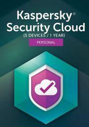 Kaspersky Security Cloud (5 Käyttäjää, 1 Vuosi)
