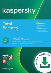 Kaspersky Total Security 2021 (3 Käyttäjää, 1 Vuosi)