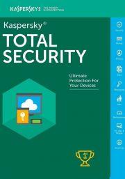 Kaspersky Total Security 2021 (1 Käyttäjää, 1 Vuosi)