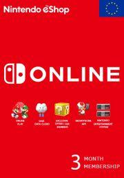 EU Nintendo 3 kk jäsenyys