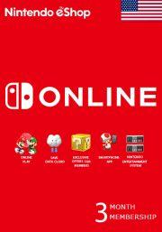 USA Nintendo 3 Month jäsenyys