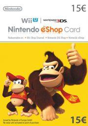 EU Nintendo 15 Euro eShop Lahjakortti