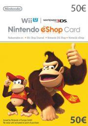 EU Nintendo 50 Euro eShop Lahjakortti