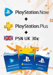 UK PSN 3 kuukauden kombotarjous