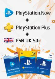 UK PSN 12 kuukauden kombotarjous