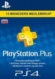 Norja PlayStation Plus 365 päivää