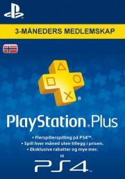Norja PlayStation Plus 90 päivää