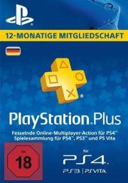 Saksa PlayStation Plus 365 päivää