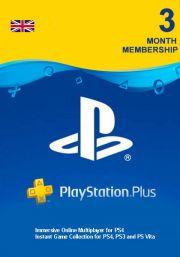 UK PlayStation Plus 90 päivää