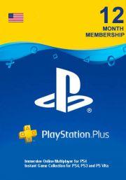 USA PlayStation Plus 365 päivää