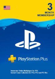 USA PlayStation Plus 90 päivää