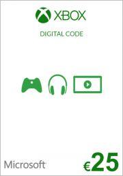 EU Xbox 25 Euro Lahjakortti