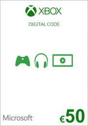 EU Xbox 50 Euro Lahjakortti