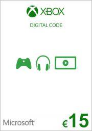 EU Xbox 15 Euro Lahjakortti (Xbox One & 360)