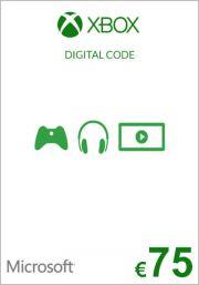 EU Xbox 75 Euro Lahjakortti