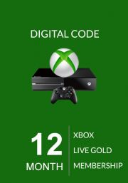 Xbox Live Gold 12 kk (Xbox One & 360)
