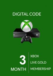 Xbox Live Gold 3 kk (Xbox One & 360)