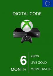 EU Xbox Live Gold 6 kk