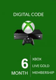 Xbox Live Gold 6 kk (Global)