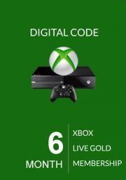 Xbox Live Gold 6 kk (Global)
