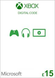 UK Xbox 15 Punta Lahjakortti
