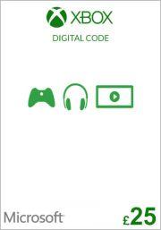 UK Xbox 25 Punta Lahjakortti